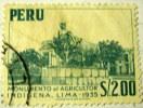 Peru 1952 Agricultural Monument Lima $2.00 - Used - Peru