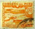 Peru 1938 River Ica Airmail 30c - Used - Peru
