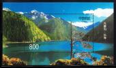 China People´s Republic Of Scott #2854 MNH Souvenir Sheet 800f Long Lake - Géographie