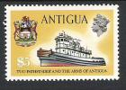 Antigua 1970 Ship Definitives MNH CV £51 (2 Scans) - Antigua Y Barbuda (1981-...)