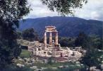 Delphi - The Tholos Of Marmaria - Viaggiata - Formato Grande - Grecia