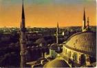 Istambul - Sultan Ahmet Camiinden Sehrin Gorunusu - Viaggiata Mancante Di Affrancatura - Formato Grande - Turchia