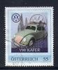 Oostenrijk, Mi Persoonlijke Postzegel, VW Kafer, Zie Scan - 2011-... Afgestempeld