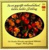 LP  Holder Holder Frühling  -  So Sei Gegrüßt Vieltausendmal  ,  Dresdner Kreuzchor  -  Eterna 135 001 - Sonstige - Deutsche Musik