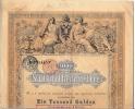 Bon Du Trésor Autrichien 1868 - Actions & Titres