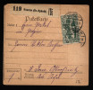A1179) Oberschlesien Paketkarte Von Knurow 5.10.1920 Nach Ostrosnitz !! - Coordination Sectors