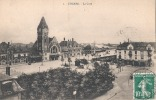-COLMAR  La Gare  Timbréee TTBE - Colmar