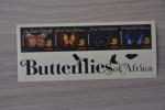 M1 06 ++ TANZANIA  2011 ++ VLINDER BUTTERFLY PAPILLON SCHMETTERLING MARIPOSA FARFALLA MNH ** VERY FINE - Tansania (1964-...)