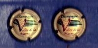 VALLEE DE LA MARNE 2 X N° 10 Fond Crème - Vallée De La Marne