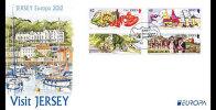 Jersey 2012 - Europa 2012, Visitez Jersey // FDC - 2012