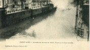 CPA 94 CHOISY LE ROI INONDATIONS DE JANVIER 1910 TRAIN SUR LA VOIE INONDEE - Choisy Le Roi