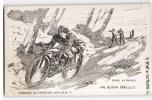 SOLDAT FRANCAIS EN MOTO SOUS UNE RAFALE ALEMANDE LORS D'UNE MISSION PERILLEUSE MOTARD GUERRE - Motorbikes