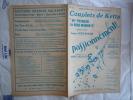 1926 PASSIONNEMENT N° 5 COUPLETS DE KETTY AH POURQUOI LES BONS MOMENTS CHANT BONNET M HENNEQUIN A WILLEMETZ A MESSAGER