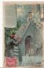 AU CLAIR DE LA LUNE CARTE METEOR (LUMINEUSE CONTRE UNE VITRE) 1907 - Fantasie