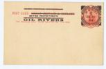 Oil Rivers, Niger Coast, Royal Niger Company Nigeria, Postcard 1892-93 CV € 50 - Nigeria (...-1960)