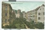KARLSBAD Untere Parkstrasse - POSTKARTE, FARBE, Gebraucht, 1908, Für Italien, SMALL Größe 9 X 14, - Sudeten