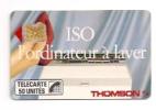 Telecarte   ISO THOMSON SC4 OB SE 4 N° Impact - 1989