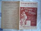 1930 LE CHANT DU DESERT JE NE VEUX QUE SON AMOUR COUZINOU FERREOL SAINT GRANIER S ROMBERG