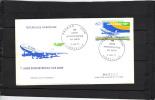 GABON - FDC - Poste Aérienne - Yvert N° PA 193 - 1 ère Liaison Intercontinentale Air Gabon - Aviation - Gabon (1960-...)