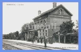 60. OISE - MORIENVAL. La Gare. - Other Municipalities
