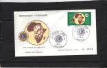 GABON - FDC -  Yvert N° 342 - Lions Club - Gabon (1960-...)
