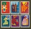 LIECHTENSTEIN 1967 MNH Stamp(s) Religion 486=494 6 Values Only - Liechtenstein