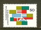 LIECHTENSTEIN 1967 MNH Stamp(s) Efta 481 - Liechtenstein