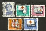 SWITZERLAND 1963 Used Stamp(s) Pro Patria 775-779 #3744 - Pro Patria