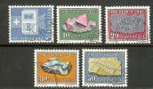 SWITZERLAND 1961 Used Stamp(s) Pro Patria 731-735 #3734 - Pro Patria
