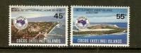 COCOS ISLANDS 1984 MNH Stamp(s) Ausipex 123-124 - Philatelic Exhibitions