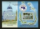 COCOS ISLANDS 1984 MNH Block B3 Ausipex - Philatelic Exhibitions