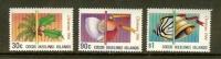 COCOS ISLANDS 1986 MNH Stamp(s) Christmas 163-165 - Christmas