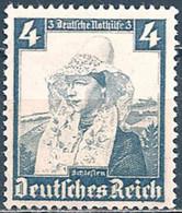 GERMANY..1935..Michel # 589...MH...MiCV - 7 Euro. - Duitsland