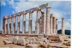Sounion - Grecia - Poseidon Tempel - Viaggiata - Formato Grande - Grecia