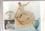 MONACO  COUPE DES CLUBS CHAMPIONS EUROPEENS  N°1275  CARTE MAXIMUM - Fußball-Europameisterschaft (UEFA)