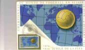 SUISSE COUPE DU MONDE FOOT 1954   CARTE MAXIMUM N° 547 - 1954 – Schweiz