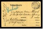 1915 Feldpostkarte - Fahrwerke Sind Schwer Zu Bekommen - Stempel Tiengen - Amt Waldshut - Alemania