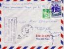 MARSEILLE-TOKYO-1er LIAISON AIR FRANCE PAR QUADRIREACTEUR BOING 707-PARIS-ANCHORAGE-TOKYO LE 16-2-1960. - Luchtpost