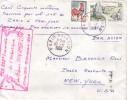 PARIS AVIATION 10-11-1966 - CACHET SPECIAL 150 000e TRAVERSEE DE L'ATLANTIQUE PAR CLIPPERS PAN AMERICAN. - Luchtpost