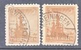 Thuringen 92ax  (o) - Soviet Zone
