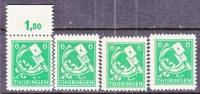 Thuringen 95ax  **  * - Soviet Zone