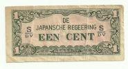 1942 Japan Een Cent WWII - Japon