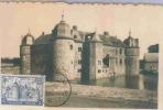 CARTE MAXIMUM  BELGIQUE   N°  875  CHATEAU  LAVAUX   SAINT ANNE - Maximumkarten (MC)