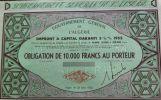 Gouvernement Général De L´algérie  10.000 Fr  1952 - Actions & Titres