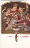 20318 Prosit Meujahr !! Série VII 2 Sylvesterbowle, Munchen . Santé Musicien - Noces