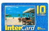 ST MAARTEN (ST. MARTIN)   -  CLEAN COMMUNICATIONS (REMOTE) - INTER CARD: PHILIPSBURG       - USATA° (USED)  -  RIF. 948 - Antilles (Netherlands)