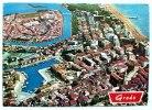 GRADO - Veduta Aerea Con L'isola Della Schiusa Viaggiata - Gorizia
