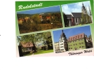 ZS23284 Rudolstadt Rathaus Used Perfect Shape Back Scan At Request - Rudolstadt