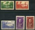 Monaco (1937) N 135 à 139 * (charniere) - Non Classés