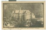 CLERVAUX - Le Vieux Château - CARTE POSTALE, NOIR BLANC, UTILISÉ, 1925, DESTINATION ITALIE, DE PETITE TAILLE 9 X 14, - Clervaux